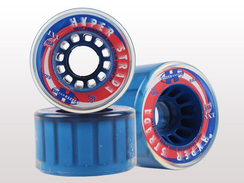 Hyper Strada Quad Skate Clear Blue